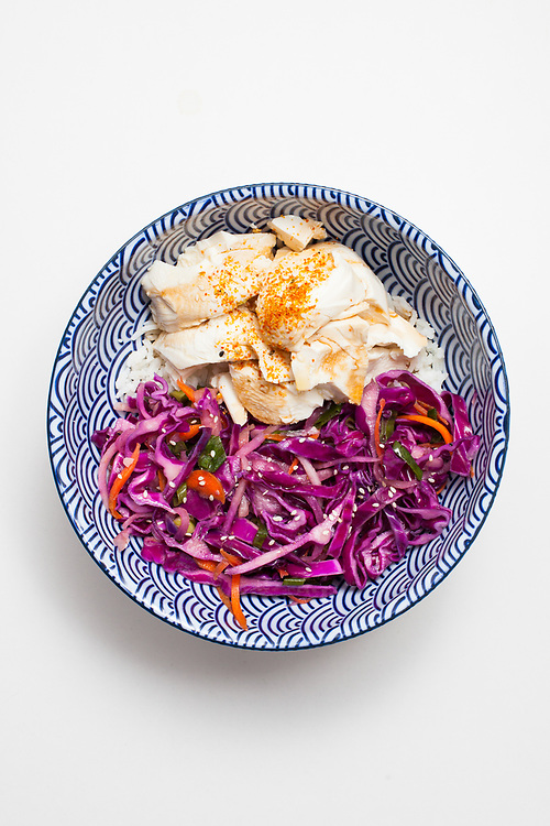 Silken Tofu w/ ginger slaw from the fridge (m€) - COVID-19 Social Distancing