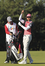 October 20, 2018 - Jeju, SOUTH KOREA - Oct 20, 2018-Jeju, South Korea-RAFA CABRERA BELLO of Spain action on the 3th green during the PGA Golf CJ Cup Nine Bridges Round 3 at Nine Bridges Golf Club in Jeju, South Korea. (Credit Image: © Ryu Seung-Il/ZUMA Wire)
