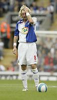 Photo: Aidan Ellis.<br /> Blackburn Rovers v Arsenal. The FA Barclays Premiership. 19/08/2007.<br /> Blackburn's Robbie Savage