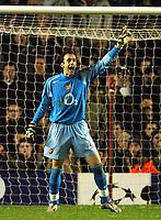 Fotball<br /> Champions League 2004/05<br /> Arsenal v Rosenborg<br /> Highbury - London<br /> 7. desember 2004<br /> Foto: Digitalsport<br /> NORWAY ONLY<br /> Manuel Almunia