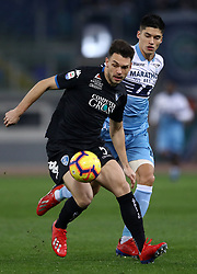 February 7, 2019 - Rome, Italy - Ss Lazio v Empoli Fc - Serie A.Frederic Veseli of Empoli at Olimpico Stadium in Rome, Italy on February 7, 2019. (Credit Image: © Matteo Ciambelli/NurPhoto via ZUMA Press)