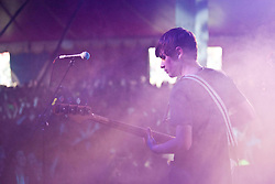 Kireran Webster, The View play the Clash Arena tent..Saturday at Rockness 2012..©Michael Schofield..
