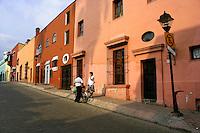 Mexican Street Scene on the streets of Cuernavaca, Morelos.