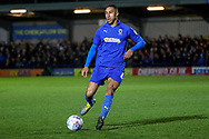 AFC Wimbledon defender Terell Thomas (6) dribbling during the EFL Sky Bet League 1 match between AFC Wimbledon and Peterborough United at the Cherry Red Records Stadium, Kingston, England on 12 March 2019.
