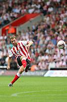 Football - Championship - Southampton vs. Nottingham Forest<br /> Southampton's Rickie Lambert shoots at goal at St Mary's Stadium Southampton