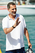 080515 Spanish Royals In Palma de Mallorca - 34th Copa del Rey Mapfre Sailing Cup day 3
