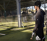 GLENDALE, ARIZONA - FEBRUARY 19: Tim Anderson #7 of the Chicago White Sox looks on during spring training workouts on February 19, 2019 at Camelback Ranch in Glendale Arizona.  (Photo by Ron Vesely). Subject:   Tim Anderson