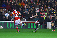 Grant Leadbitter of Sunderland (23) passes the ball during the EFL Sky Bet League 1 match between Barnsley and Sunderland at Oakwell, Barnsley, England on 12 March 2019.