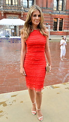 Liz Hurley at the V&A Summer Party 2017 held at the Victoria & Albert Museum, London England. 21 June 2017.