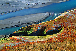 Curve of the land in North Yukon