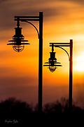 Lightpost Sunset