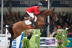 Lansink Jos, (BEL), For Cento<br /> Longings Grand Prix Port of Rotterdam<br /> CHIO Rotterdam 2015<br /> © Hippo Foto - Dirk Caremans<br /> 21/06/15
