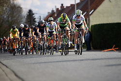 One lap to go - Grand Prix de Dottignies 2016. A 117km road race starting and finishing in Dottignies, Belgium on April 4th 2016.