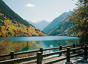 Panda Lake, Jiuzhaigou National Park, Sichuan Province, China