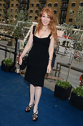 The Johnnie Walker Blue Label and David Gandy Drinks Reception aboard John Walker & Sons Voyager, St.Georges Stairs Tier, Butler's Wharf Pier, London, UK on 16th July 2013.<br /> Picture Shows:-Charlotte Tilbury.