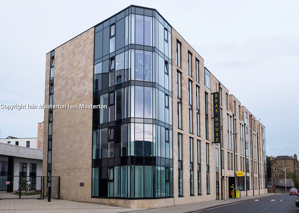 Brae House operated by The Student Housing Company is a block of apartments for students in central Edinburgh, Scotland, United Kingdom.