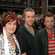 NLD/Amsterdam/20060626 - Premiere Over the Edge, Evelien Bosch, Otto Jan Ham en Dennis