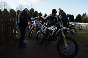 Last year's Motocross des Nations individual winner Max Anstie was on hand