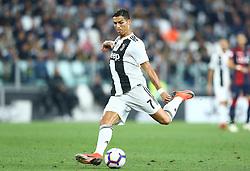 September 26, 2018 - Turin, Italy - Juventus v Bologna - Serie A .Cristiano Ronaldo of Juventus at Allianz Stadium in Turin, Italy on September 26, 2018. (Credit Image: © Matteo Ciambelli/NurPhoto/ZUMA Press)