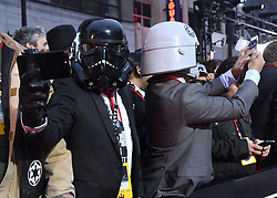 Celebrities arrive at the 'Rogue One: A Star Wars Story' movie premiere in Hollywood, California. 10 Dec 2016 Pictured: General view. Photo credit: American Foto Features / MEGA TheMegaAgency.com +1 888 505 6342