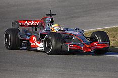 2008 McLaren Shake-down Test, January Jerez