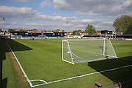 a General of inside The Cherry Red Records  Stadium before k/o. Skybet football league two play off semi final, 1st leg match, AFC Wimbledon v Accrington Stanley at the Cherry Red Records Stadium in Kingston upon Thames, Surrey on Saturday 14th May 2016.<br /> pic by John Patrick Fletcher, Andrew Orchard sports photography.