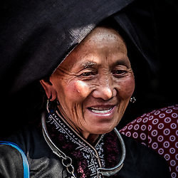 Ethnic people in Sin Ho, Lai Châu Province, North Vietnam