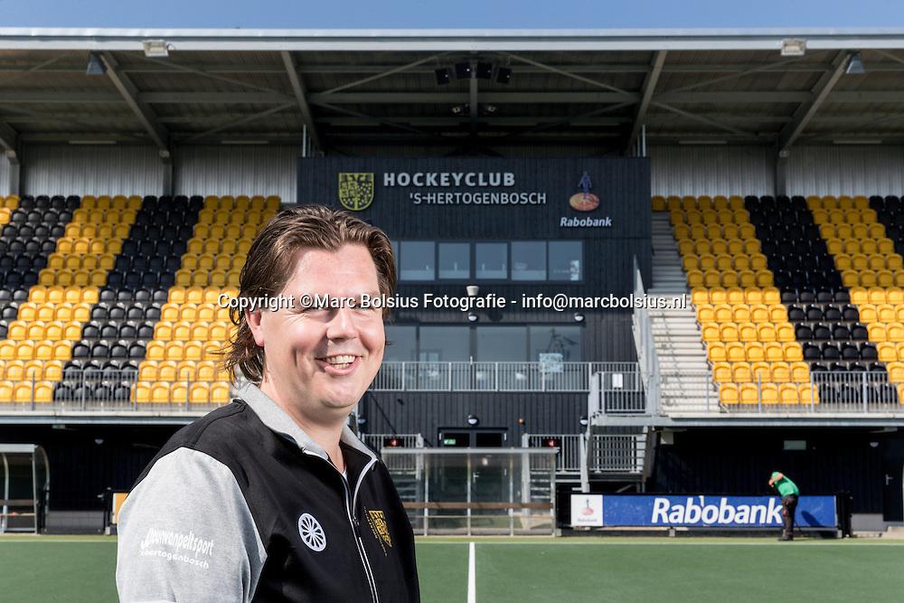 Nederland,  Den Bosch, teammanager Reinier Hoogwout van Hc Den Bosch