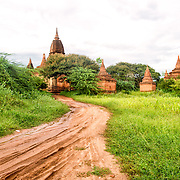 BAGAN, Myanmar (Burma) - Capital of the ancient Kingdom of Pagan, Bagan features thousands of temples and pagodas, some of which date back to the 9th century.