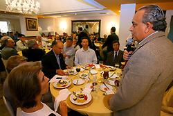Presidente do PSDBl, Sergio Guerra, durante encontro com a governadora Yeda Crusius para reunião com a executiva nacional do PSDB. FOTO: Lucas Uebel/Preview.com