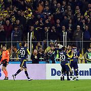 Fenerbahce's players during their Turkish super league soccer match Fenerbahce between Medicana Sivasspor at the Sukru Saracaoglu stadium in Istanbul Turkey on Monday 28 December 2015. Photo by Kurtulus YILMAZ/TURKPIX