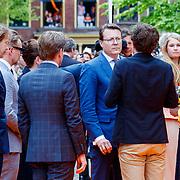 NLD/Groningen/20180427 - Koningsdag Groningen 2018, Laurentien en partner Constantijn