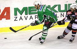 Raffaele Intranuovo at 39th Round of EBEL League ice hockey match between HDD Tilia Olimpija and HK Acroni Jesenice, on December 30, 2008, in Arena Tivoli, Ljubljana, Slovenia. Tilia Olimpija won 4:3. (Photo by Vid Ponikvar / SportIda).