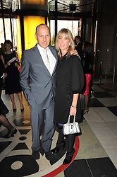 PEREGRINE & CAROLINE ARMSTRONG-JONES at the opening of the Victoria & Albert Museum's latest exhibition 'Grace Kelly: Style Icon' opened by His Serene Highness Prince Albert of Monaco at the V&A on 15th April 2010.