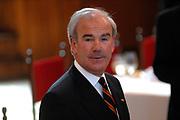 State visit of Luxembourg to the Netherlands /<br /> Staatsbezoek van Luxemburg aan Nederland<br /> <br /> Government lunch in the Ridedertzaal in The Hague with speech of the minister-president and the Grand Duke.<br /> <br /> Regeringslunch in de Ridedertzaal in Den haag met toespraak van de Minister-president en de Groothertog.<br /> <br /> On the photo / Op de foto;<br /> <br /> Frans Weisglas (1946) is sinds 28 mei 2002 voorzitter van de Tweede Kamer