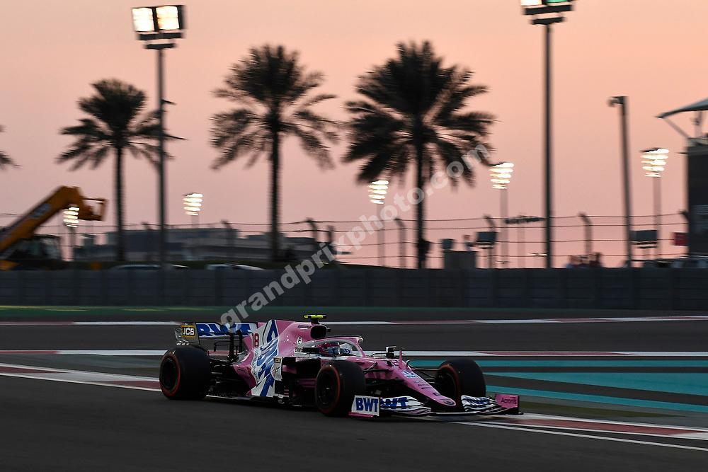 Lance Stroll (Racing Point-Mercrdes) during the 2020 Abu Dhabi Grand Prix at the Yas Marina Circuit. Photo: Grand Prix Photo
