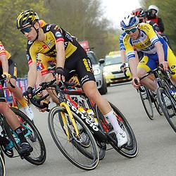 18-04-2021: Wielrennen: Amstel Gold Race men: Berg en Terblijt <br />Lennard Hofstede