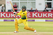 Rachael Haynes batting during the Royal London Women's One Day International match between England Women Cricket and Australia at the Fischer County Ground, Grace Road, Leicester, United Kingdom on 2 July 2019.
