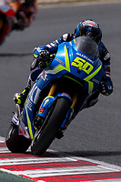 Sylvain Guintoli of France and Suzuki Ecstar Team rides during free practice for the MotoGP of Catalunya at Circuit de Catalunya on June 9, 2017 in Montmelo, Spain.(ALTERPHOTOS/Rodrigo Jimenez)