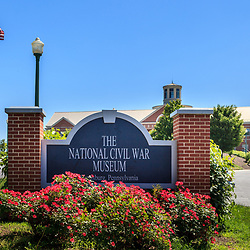 Harrisburg, PA, USA - June 2, 2011: The National Civil War Museum is located at Reservoir Park in Harrisburg, Pennsylvania