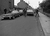1981 - Scene Of Garda Shooting At North Strand, Dublin.      (N78).