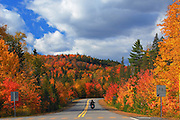 On the Road, autumn, Parc de la Mauricie, Quebec, Canada (available on sale at getty images)