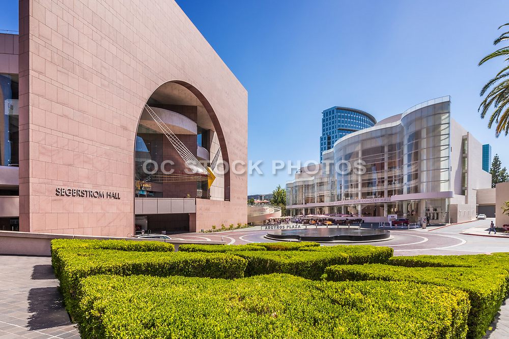 Renee And Henry Segerstrom Concert Hall And Segerstrom Center Of The Arts At Argyros Plaza In Costa Mesa
