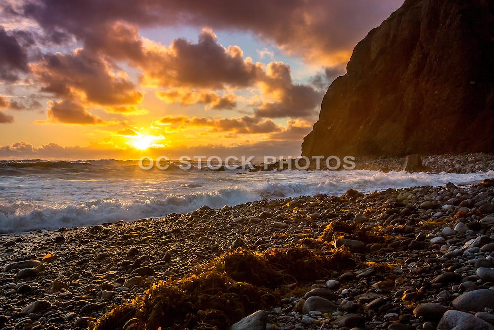 Dana Point Headlands Beach at Sunset