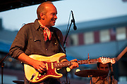 Dave Alvin & the Guilty Men at South St. Seaport, NYC 7/14/06