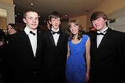 John Murphy, Ciaran Cox, Orla Buckley, Niall Greaney all Loughreaat the  Ability West,  second annual Best Buddies ball, 2010 in the Galway Bay Hotel, Salthill Galway. Photo:Andrew Downes.