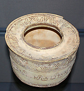 Nal style polychrome pot, Baluchistan, 3000-2000 BC.  Nal and other sites in Baluchistan were important pre-Harappa pottery centres.