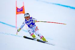 17.01.2018, Olympia delle Tofane, Cortina d Ampezzo, ITA, FIS Weltcup Ski Alpin, Abfahrt, Damen, 1. Training, im Bild Nicole Schmidhofer (AUT) // Nicole Schmidhofer of Austria in action during the 1st practice run of ladie' s downhill of the Cortina FIS Ski Alpine World Cup at the Olympia delle Tofane course in Cortina d Ampezzo, Italy on 2015/01/17. EXPA Pictures © 2018, PhotoCredit: EXPA/ Dominik Angerer
