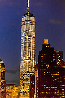 One World Trade Center  (the tallest skyscraper in the Western Hemisphere and 4th tallest in the world),, New York, New York USA.