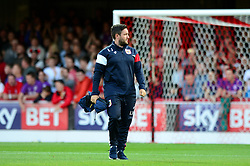 Bristol City head coach Lee Johnson  - Mandatory by-line: Dougie Allward/JMP - 15/08/2017 - FOOTBALL - Griffin Park - Brentford, England - Brentford v Bristol City - Sky Bet Championship